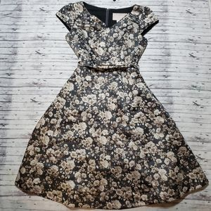 Gal Meets Glam Dress 4 Elle Roses Floral
